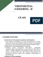 Environmental Legislation & Regulations
