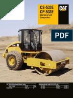 Vibratory Soil Compactor CS533E