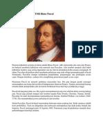 Penemu Kalkulator Blaise Pascal
