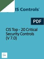 20 CIS Controls v7.0