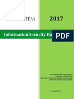 Unt System Information Security Handbook 2017