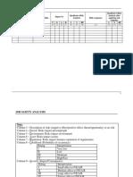 Job Safety Risk Analysis (E)