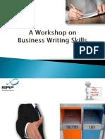 A Workshop on BWS