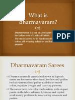 dharmavaram sarees.pptx