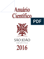 Anuario Cientifico Do Centro Hospitalar Universitário São João - 2016 (1a Edicao-Setembro2018) (1)