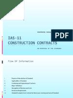 IAS 11 Presentation