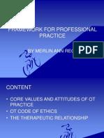 Framework for Professional Practice