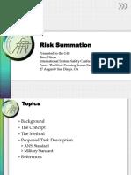 P01 Pfitzer Summing Risk