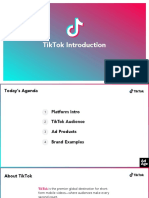 Tik Tok Pitch Deck