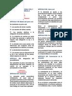Cuestionario Procesal Civil y Mercantil 2 Parcial II
