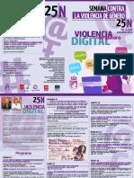 25N / Actividades en Coslada con motivo del Día Internacional de la Eliminación de la Violencia contra las Mujeres