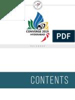 Converge 2019-Rule Book NIFT