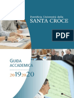 Guida Accademica Santa Croce