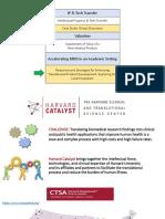 Fall - Harvard catalyst - Medical Device Development Combined Deck