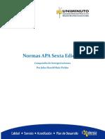 Normas Apa Sexta Edicion - Documento