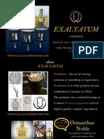 Exaltatum Perfume