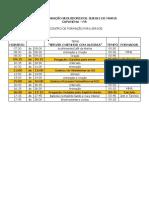 Cronograma Capanema