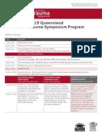 Trauma Symposium Program 2019