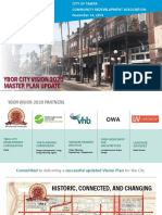 Ybor City's 2020 Master Plan