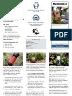 Drip Irrigation Maintenance