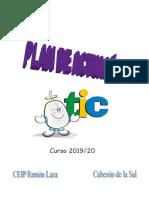 Plan de Actuación TIC 2019-20