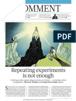 Nature Comment - Triangulation Instead of Replication