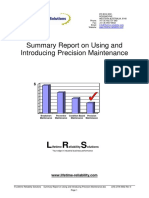 Using and Introducing Precision Maintenance (1)