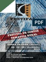 Festifal, Festival de Cine de Temática Rural de Urrea de Gaen