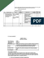 Form Penyusunan Soal HOTS - Penjas