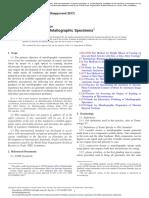 ASTM E3-11 Standard Guide for Preparation of Metallographic Specimens