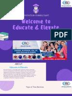 Visa Immigration Consultants in Delhi | Educate & Elevate