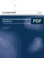 6637 Russian Use of Private Military and Security