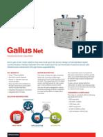 Gallus Net - Residential Smart Gas Meter