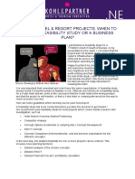 Kohl & Partner Article When to Order a Feasibility Study En