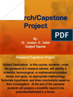 1 Research - Capstone Project Presentation