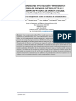 Aplicación de la transformada ondita en estudios de calidad eléctrica