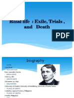Rizals Life Report