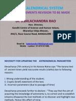 Calendrical System