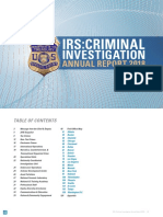 IRS Field Offices 2018 Criminal Investigation Annual Report