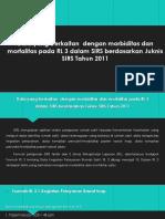 PPT TUGAS BU SELVI MORBIDITAS DAN MORTALITAS_KELOMPOK 3.pptx