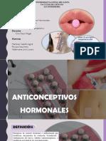 Anticonceptivos-hormonales farmacologia