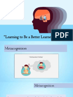 Learning to Be a Better Learner