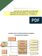 Normele Metodologice de Avizare Si Autorizare Privind Securitatea La Incendiu Si Protectia Civila Extras Din OMAI 3 2011