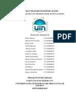 BAB 6 Kelompok 2B Laporan Praktikum Biokimia Klinis