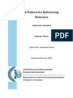 Tsimakis a. a Pattern for Refactoring Detectors DiplomaThesis