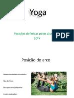 Yoga Posições Da Turma