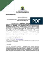 Equipamentos de Pronto Socorrismo do Comando de Operações Táticas