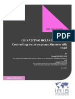 CHINA'S TWO OCEAN STRATEGY