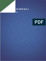 BA Detail Syllabus