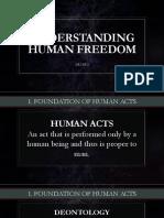 Understanding Human Acts